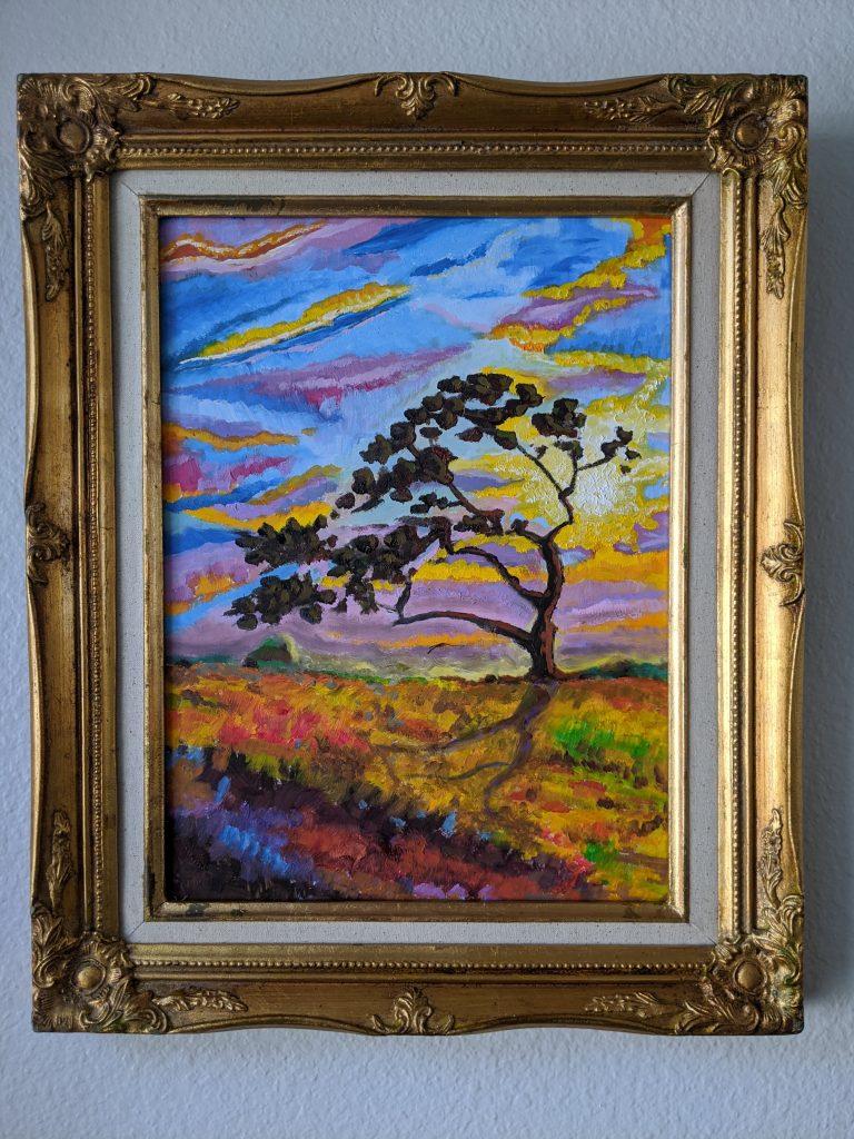 Van Gogh-like Tree