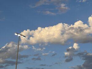 clouds light tustin sky